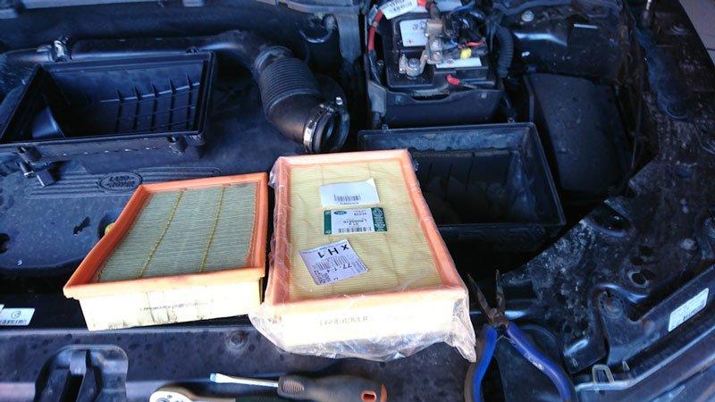 Воздушный фильтр Land Rover Freelander 2