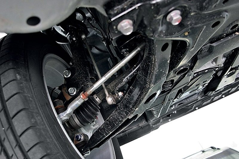 Ходовая автомобиля Mitsubishi Lancer 10