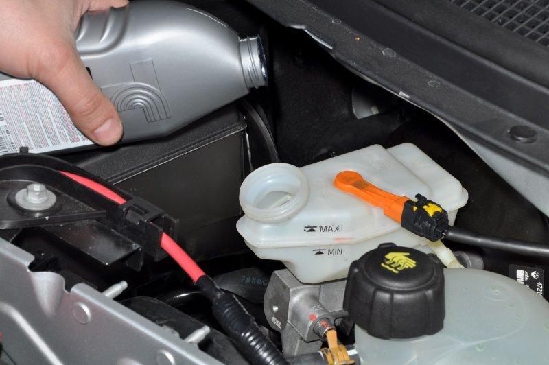 Тормозная жидкость Nissan Almera