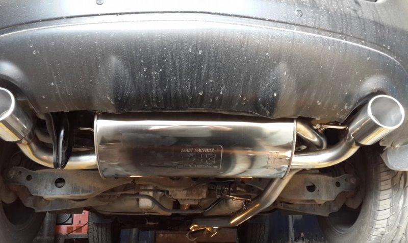 Глушитель автомобиля Nissan Murano