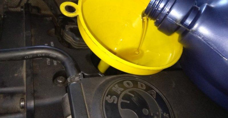 Масло для двигателя Skoda Octavia A7