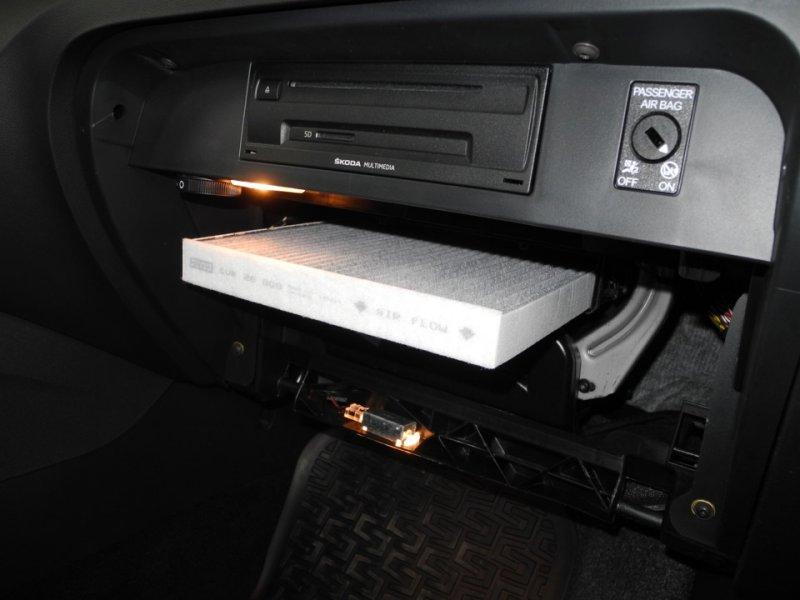 Салонный фильтр Skoda Octavia A7
