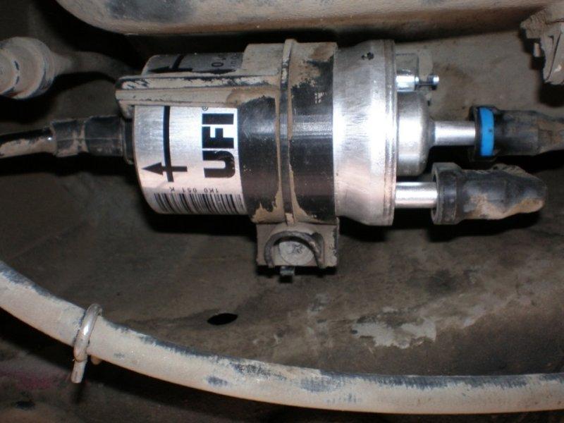 Топливный фильтр Skoda Octavia A7