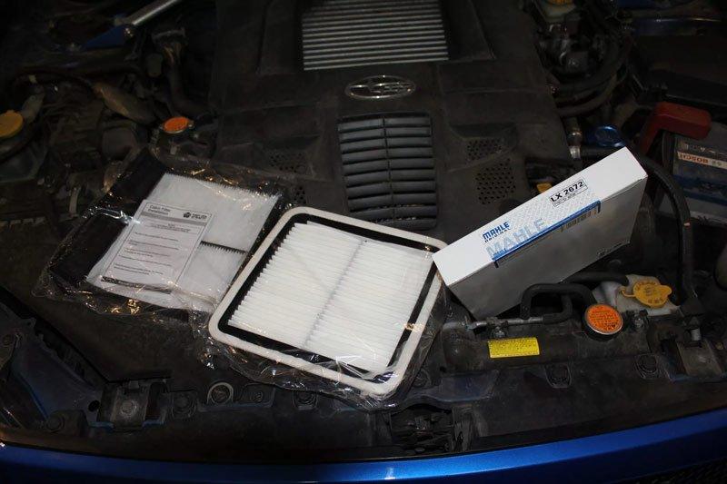 Фильтры на автомобиль Subaru Forester