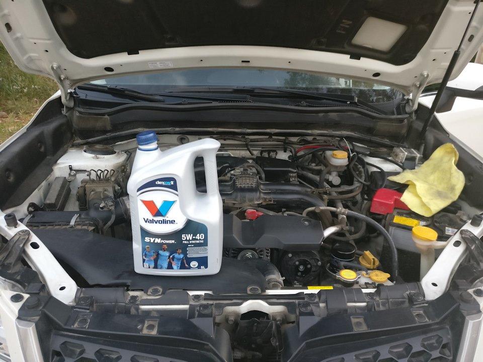 Масло для двигателя Subaru Forester
