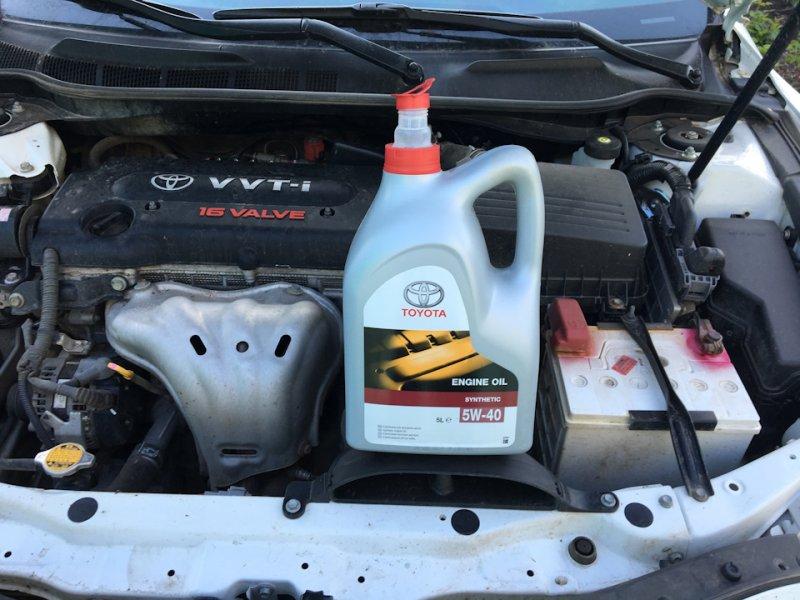 Масло для двигателя Toyota Camry