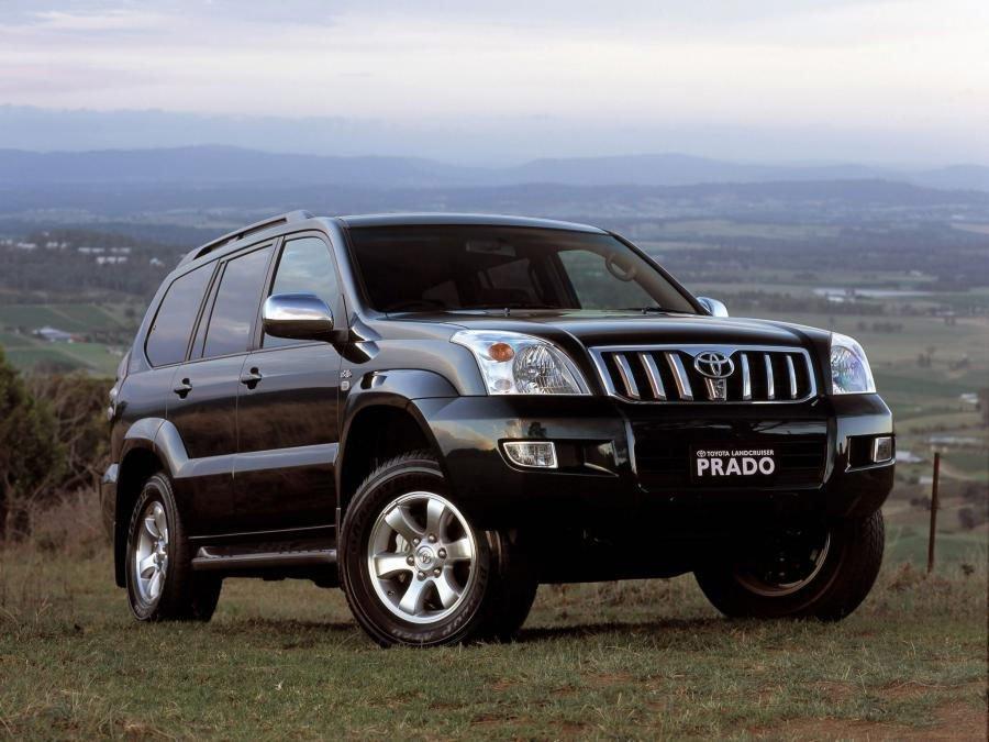 Автомобиль Toyota Prado 120