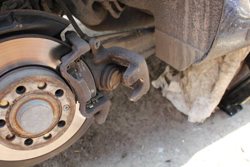 Тормоза автомобиля Volkswagen Jetta