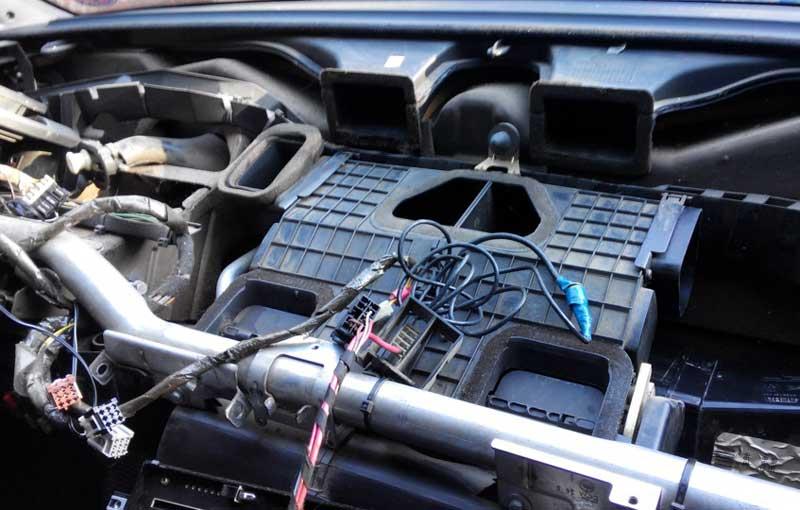 Чистка печки Citroën Jumper
