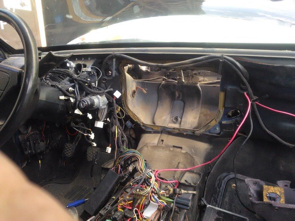 Ремонт отопителя Mercedes 124
