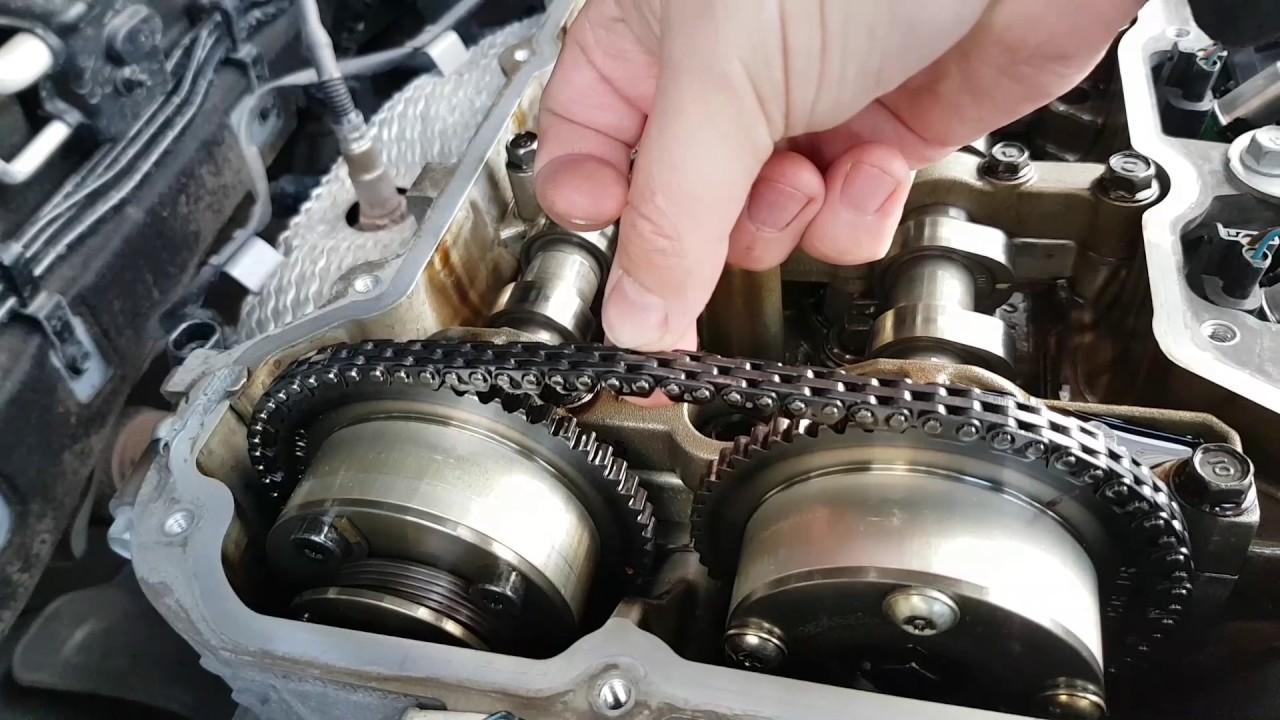 Hyundai ix35 замена цепи ГРМ