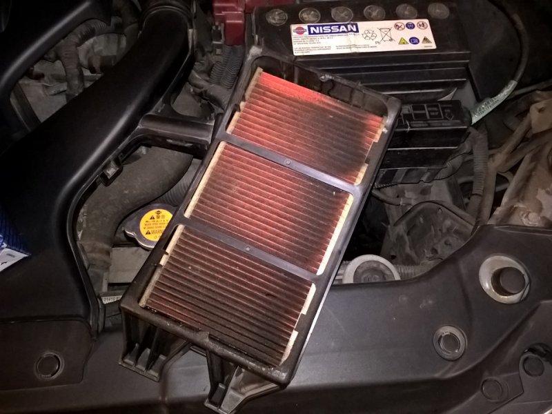 Воздушный фильтр для Nissan Tiida