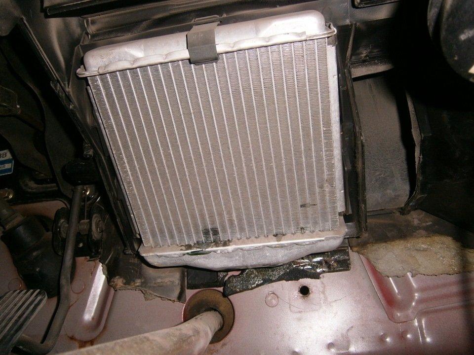 Радиатор отопителя Daewoo Nubira