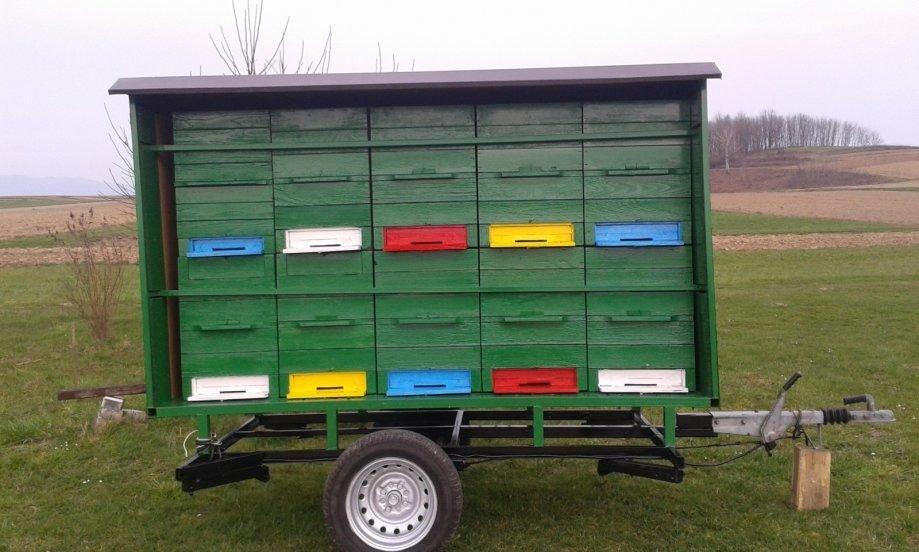 Прицеп-павильон для перевозки пчёл