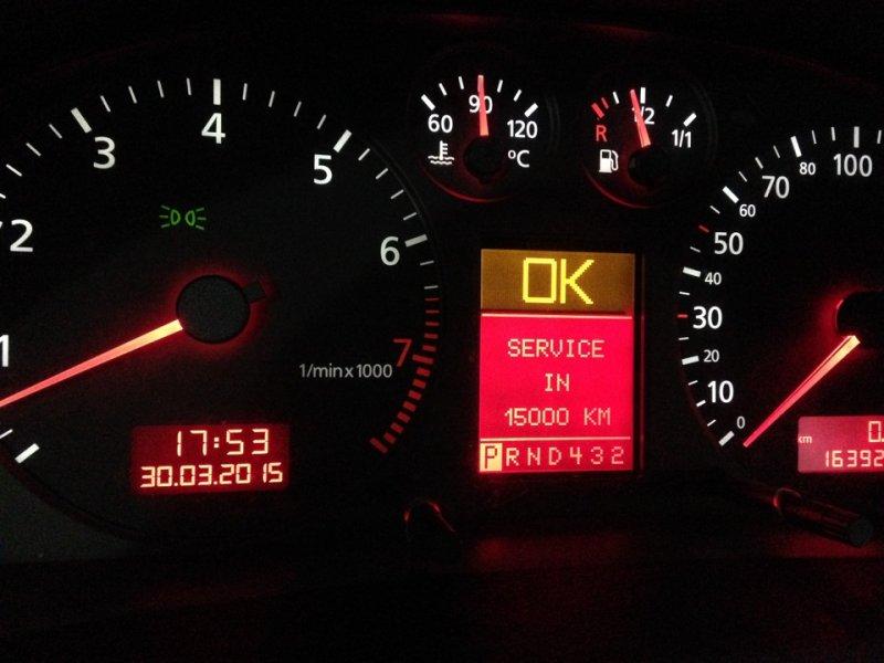 Приборная панель Audi A4