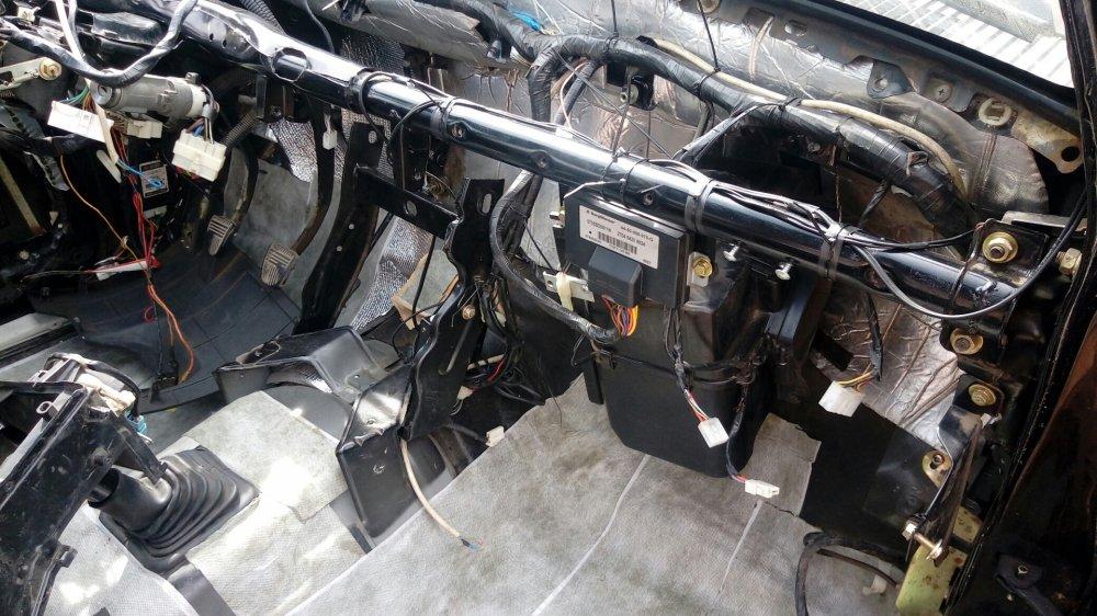 Демонтаж печки автомобиля