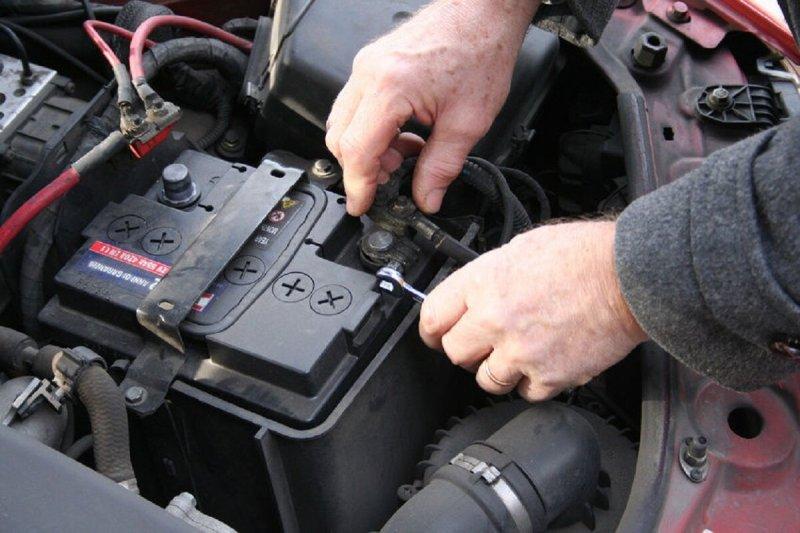 Подключение АКБ автомобиля