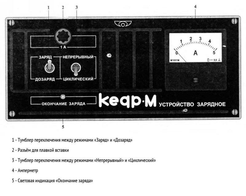 Зарядное устройство Кедр М