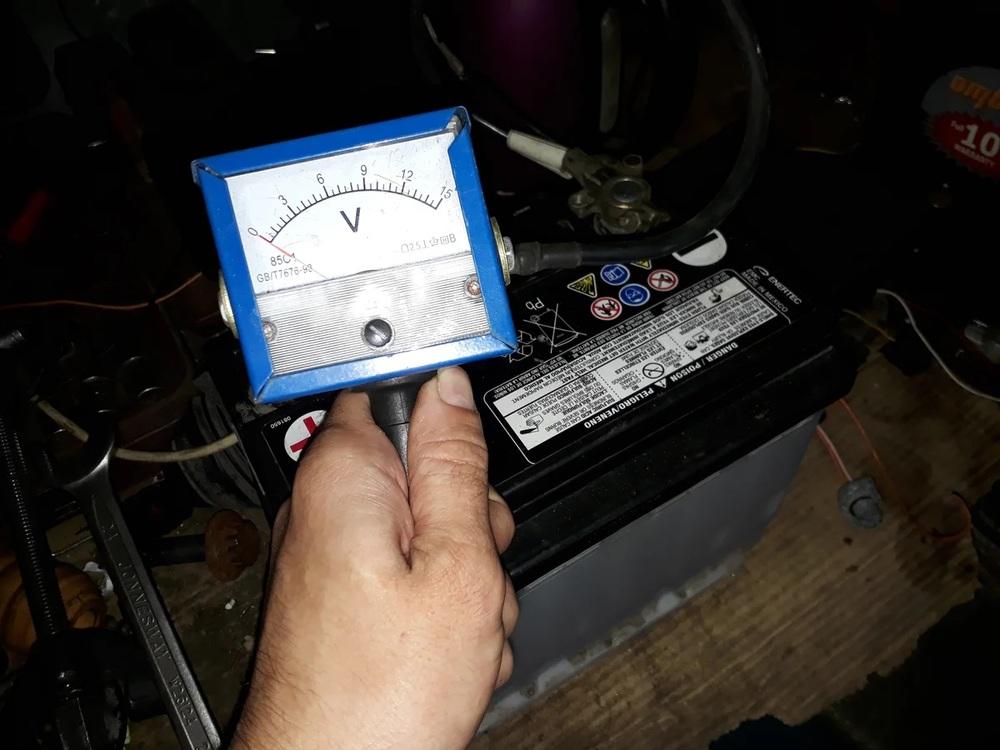 Диагностировать аккумуляторную батарею