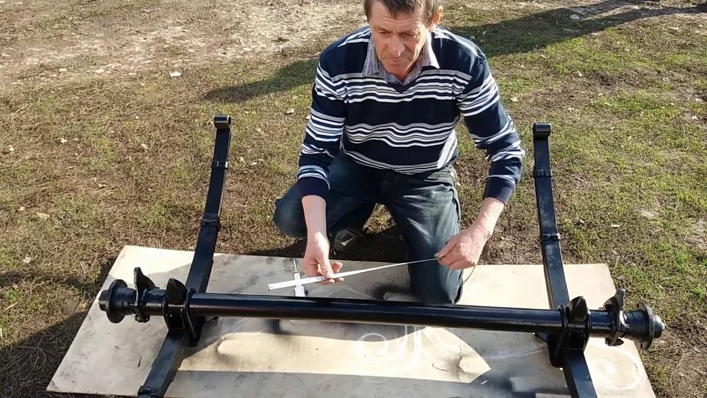 Сборка прицепа для квадроцикла