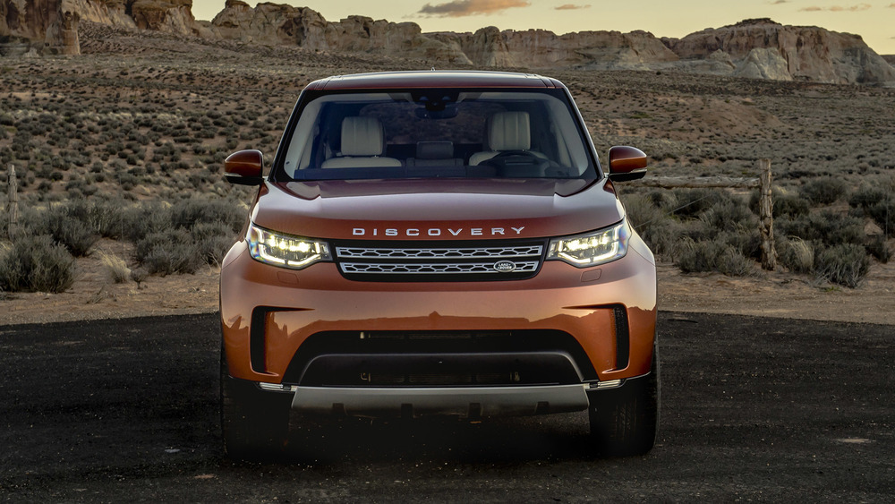 ТО Land Rover Discovery