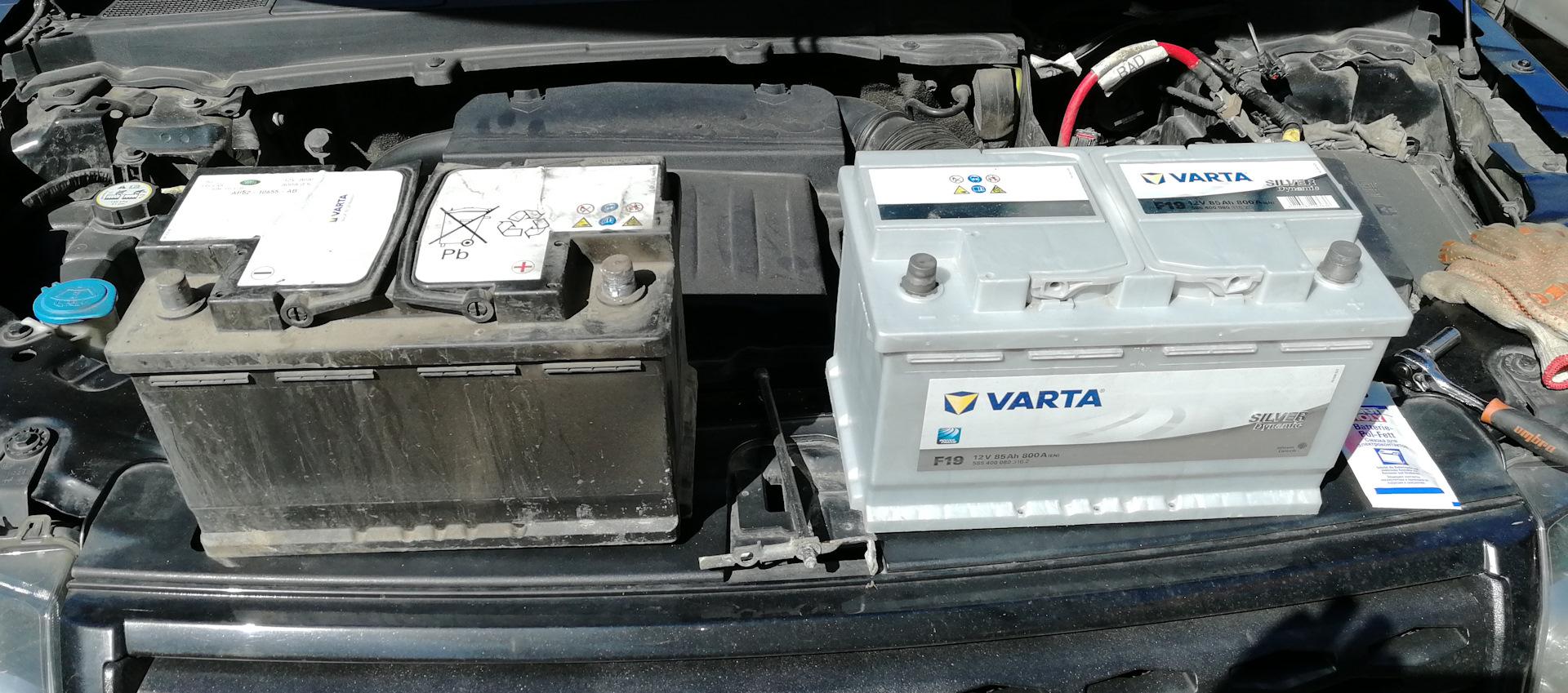 WET и обычные аккумуляторы