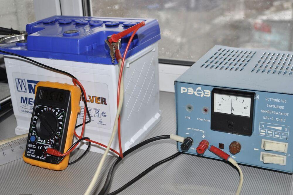 Зарядка АКБ постоянным током