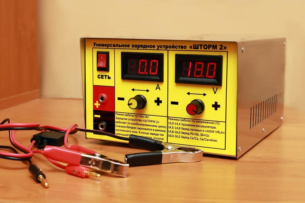 Зарядно-предпусковое устройство АКБ Шторм-2