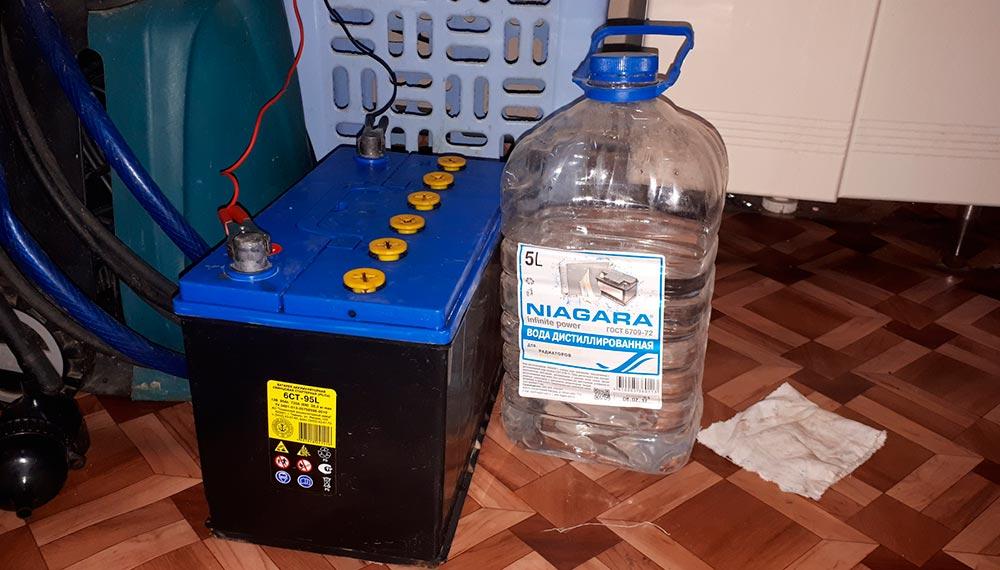 Как приготовить состав электролита для аккумулятора