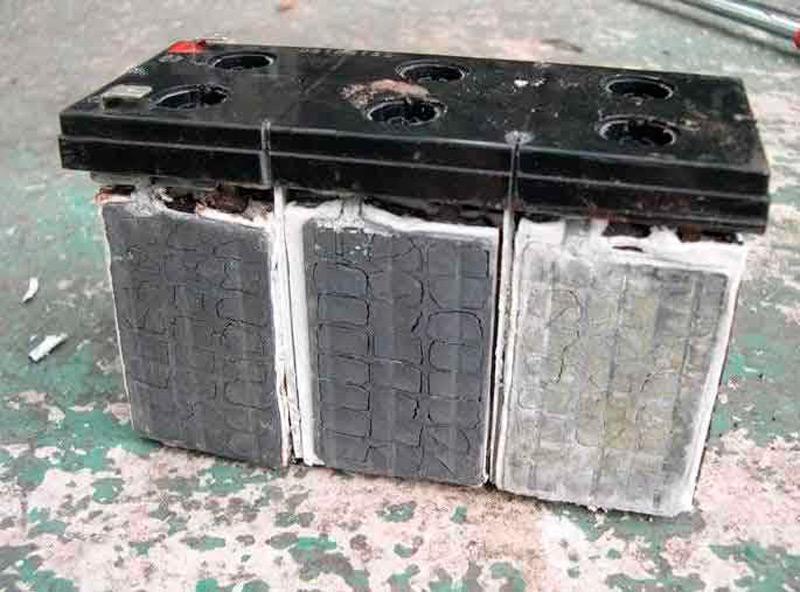 Сульфатация аккумуляторных батарей