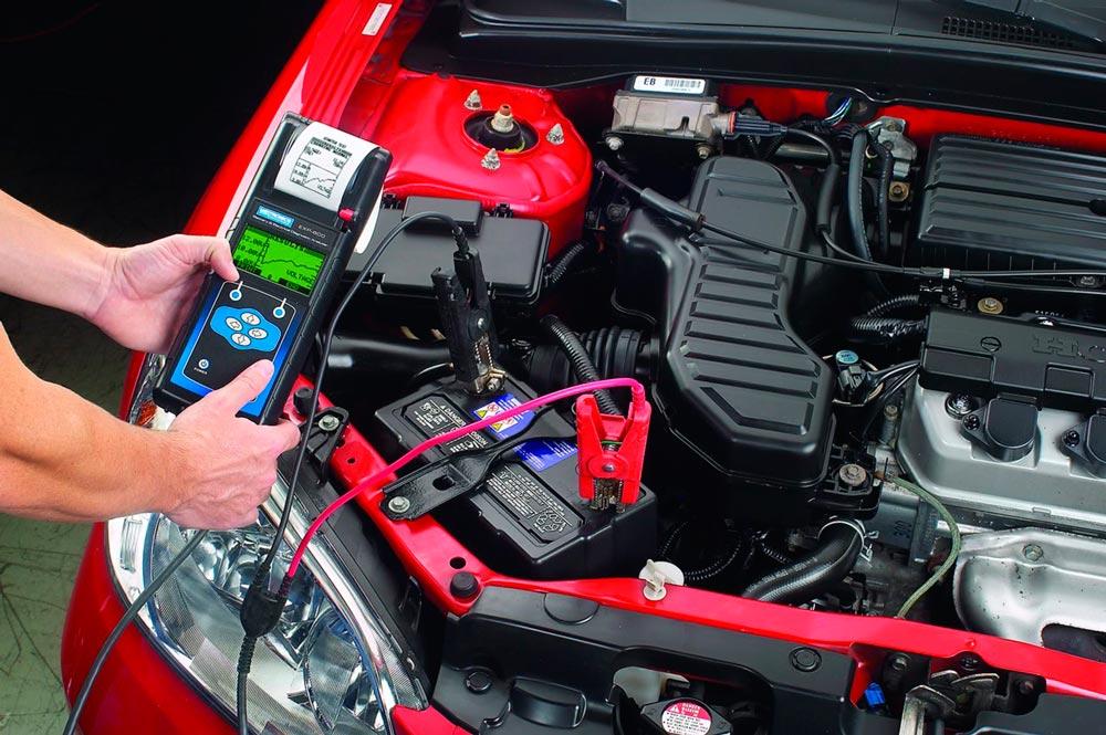 обслуживания аккумуляторных автомобильных батарей