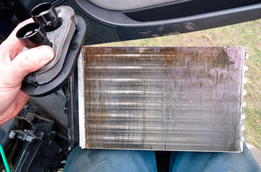 Радиатор печки авто Ситроен