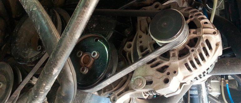 Замена ремня ГРМ на Volkswagen Transporter T4
