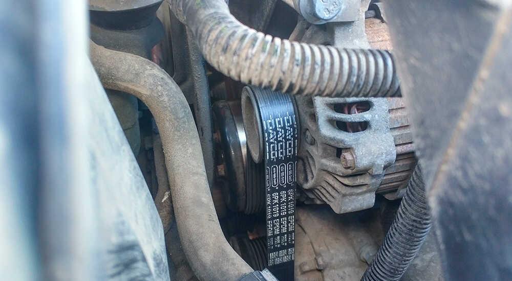 Замена ремня и генератора на Ford Fusion