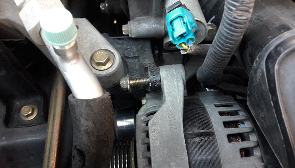 Замена ремня и генератора на автомобиле Lifan X60
