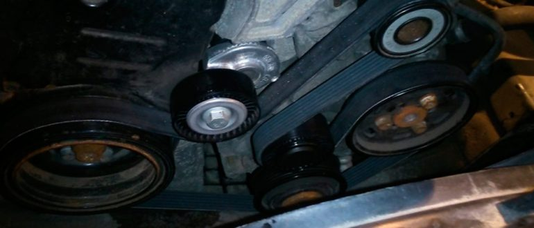 Замена и ремонт ремня генератора Audi A4