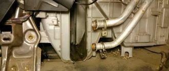 Отопительная система и замена радиатора отопителя Toyota Carina E