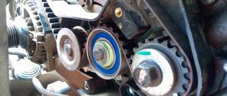 Как заменить ремень и генератор на автомобиле Daewoo Nexia