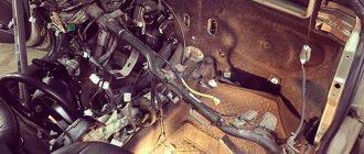 Замена радиатора печки на автомобиле Hyundai Solaris