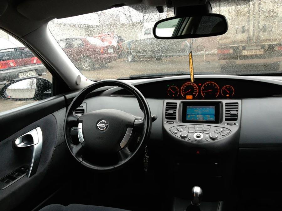 Салон Nissan Primera