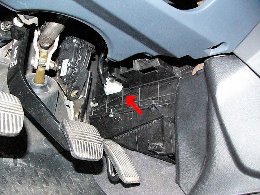Nissan primera р12 резистор печки