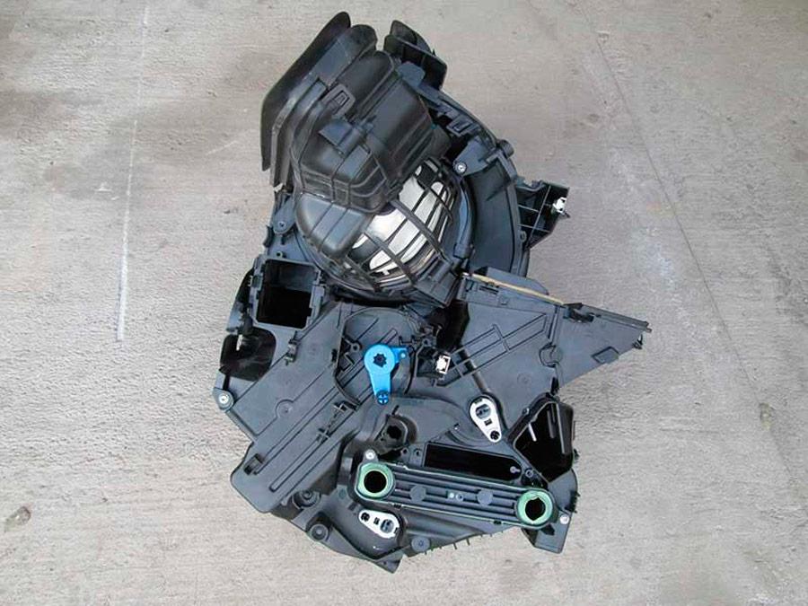 отопитель в Renault Megane 3